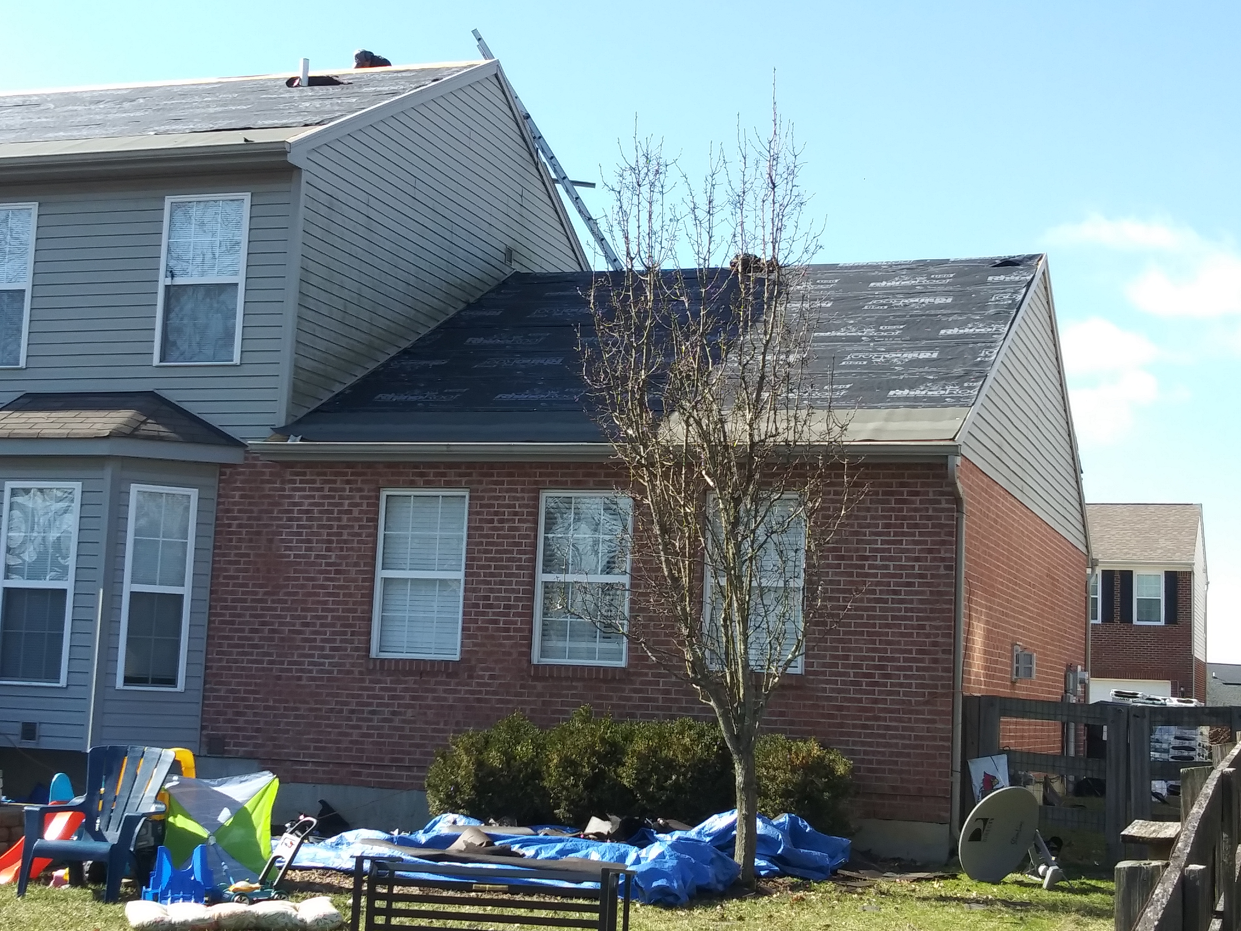 Merrick Contracting Roof Replacement in Hebron KY